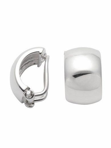 Adelia´s Paar Ohrclips »925 Silber Ohrringe / Ohrclips«, Silberschmuck für Damen