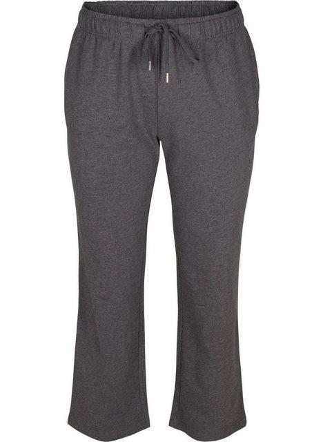 Hosen - Active by ZIZZI Sweathose Große Größen Damen Weite Sweatpants mit Taschen › grau  - Onlineshop OTTO