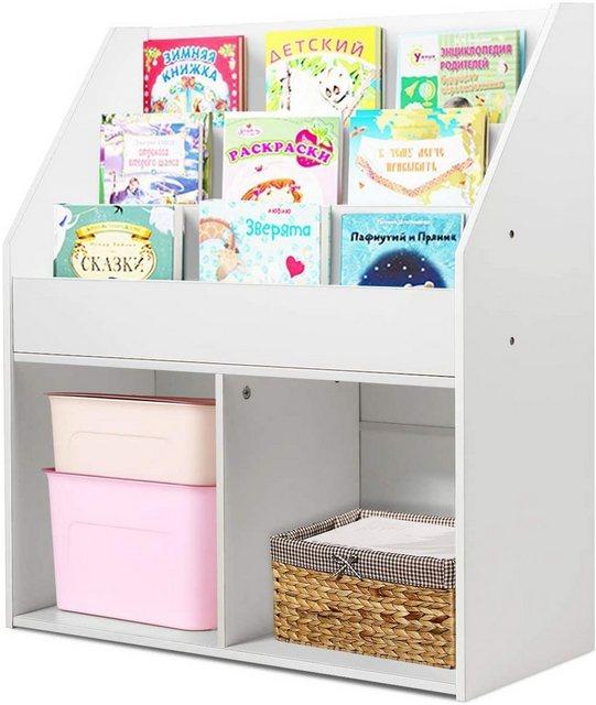 Regale - COSTWAY Bücherregal »Kinderregal«, Kinderregal freistehend  - Onlineshop OTTO