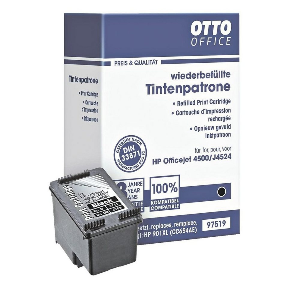 OTTO Office Standard Tintenpatrone ersetzt HP »CC654AE« Nr. 901XL