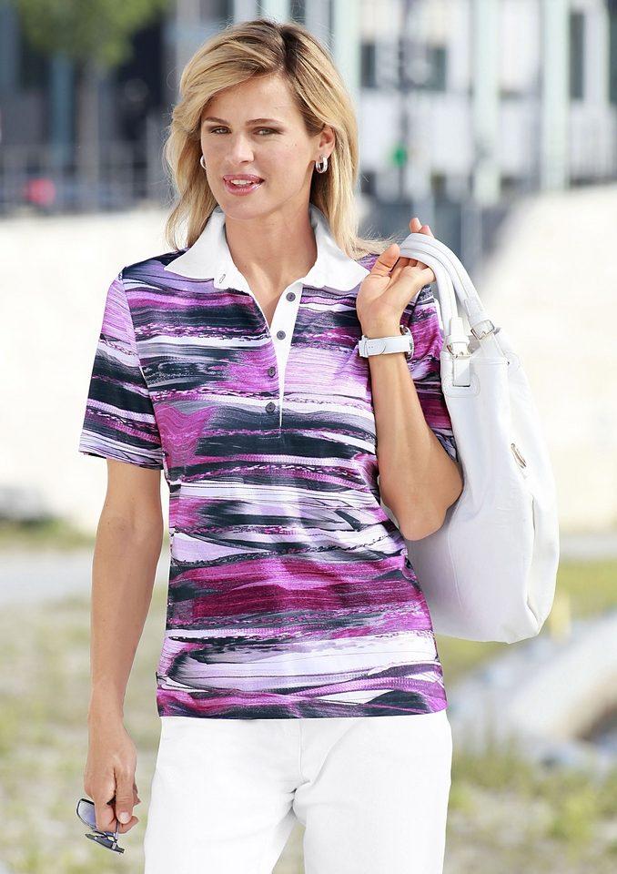 Poloshirt Kragen Mit Casual Und Knopfleiste Looks 54Aj3LR