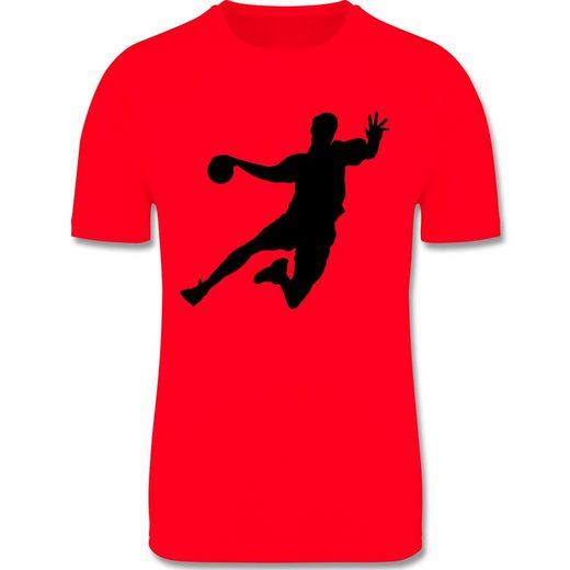 Shirtracer Funktionsshirt »Handballer - Kinder Laufshirt«