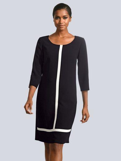 Alba Moda Kleid mit Blenden