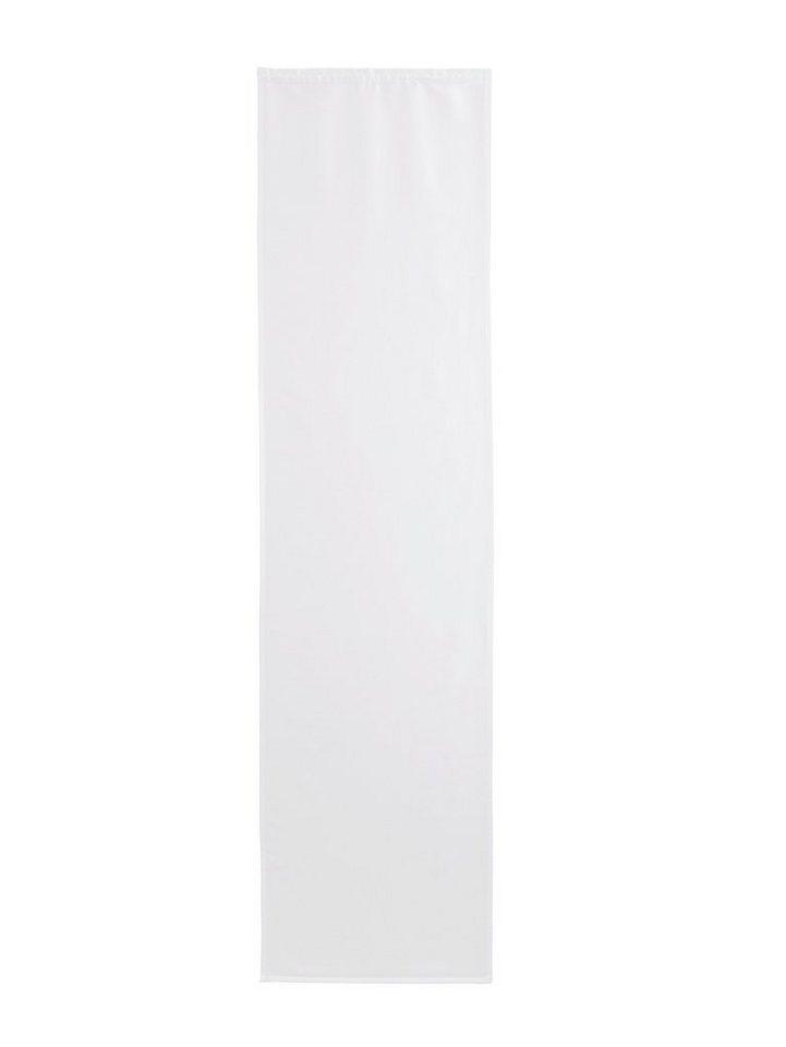 Schiebevorhang in weiß