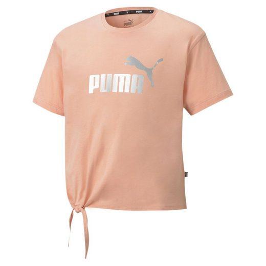 PUMA T-Shirt »Essentials+ Jugend T-Shirt mit Logo«