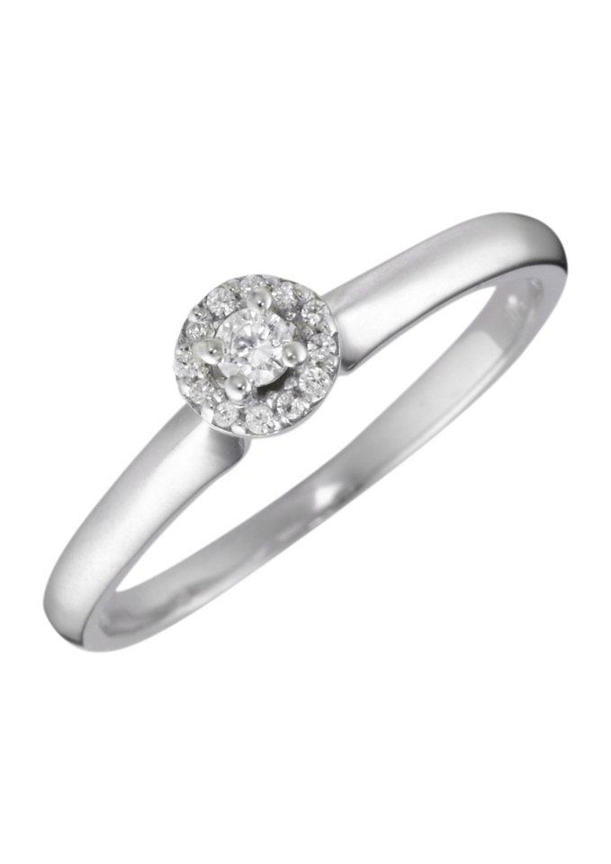 firetti ring verlobungsring vorsteckring mit diamanten online kaufen otto. Black Bedroom Furniture Sets. Home Design Ideas