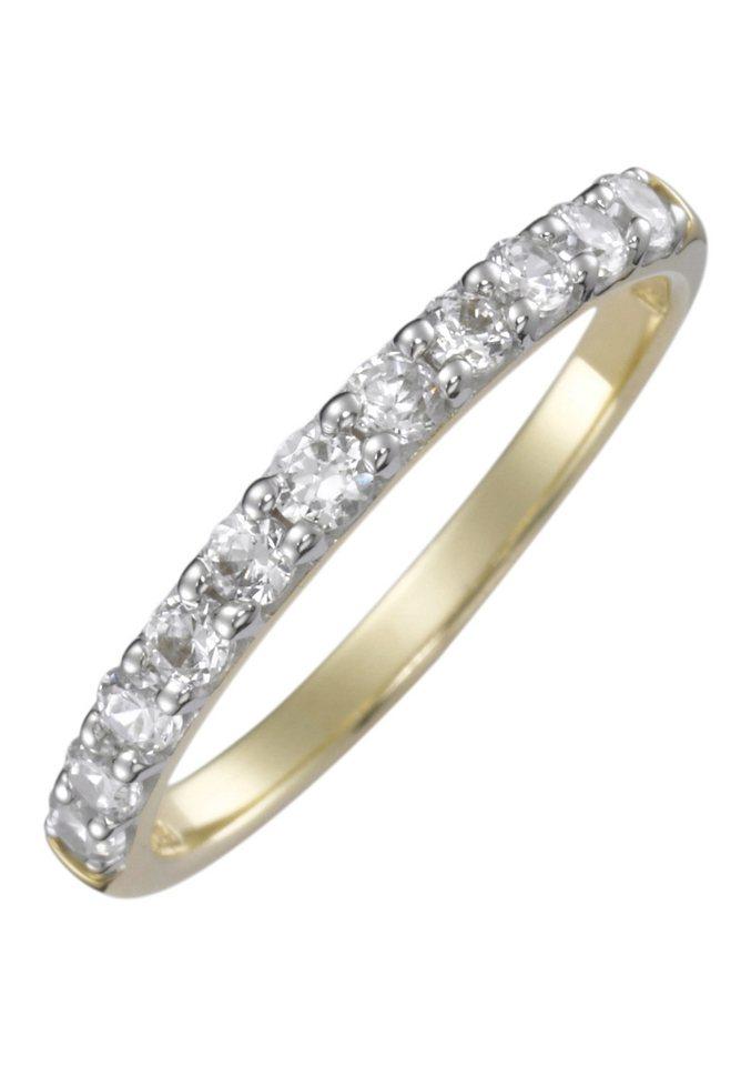 firetti Ring: Verlobungsring / Vorsteckring / Memoire, Gelbgold in Gelbgold 333