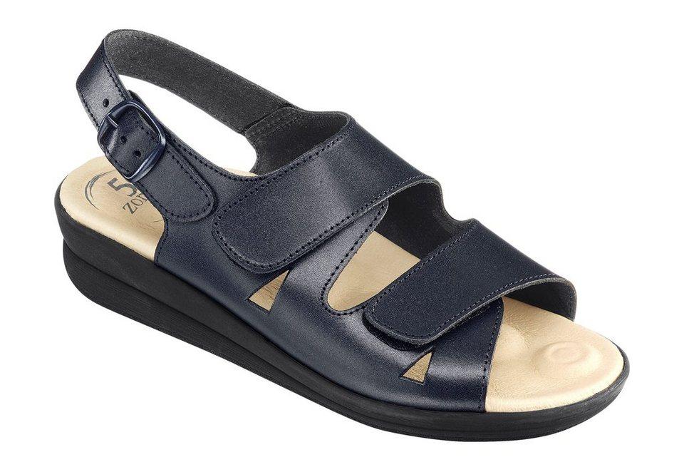 Sandalette in marine
