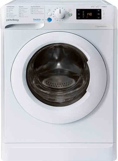 Privileg Waschtrockner PWWT X 86G4 DE N, 8 kg, 6 kg, 1400 U/min, Energieeffizienzklasse Wasch-Zyklus C