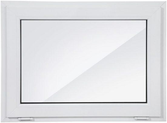 Roro Kunststoff-Fenster, BxH: 100x75 cm, weiß