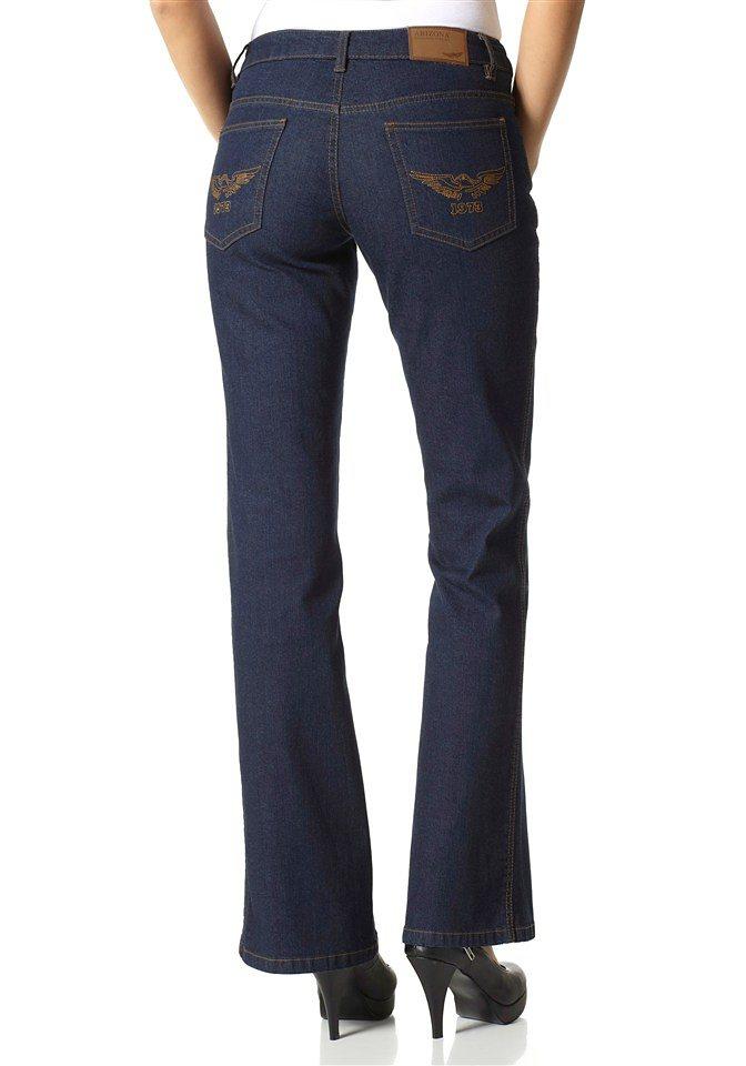 Arizona Bootcut-Jeans »Lulu« in rinsed