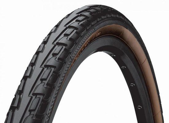 CONTINENTAL Fahrradreifen »Reifen Conti RideTour 28x1.75' 47-622 schwarz/brau«