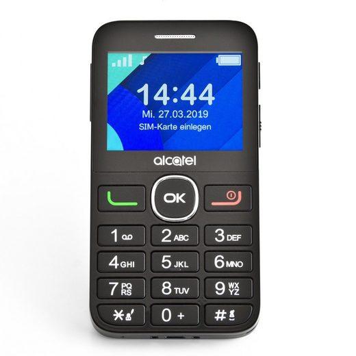 Alcatel 2008G schwarz ohne Ladeschale Handy