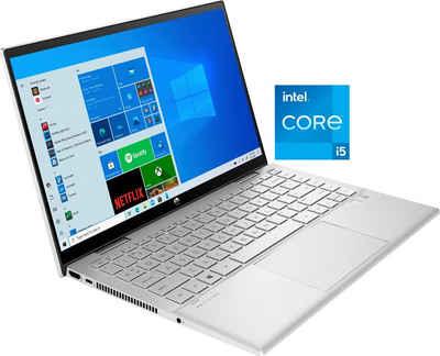 HP Pavilion x360 14-dy0202ng Convertible Notebook (35,6 cm/14 Zoll, Intel Core i5, Iris© Xe Graphics, 512 GB SSD)