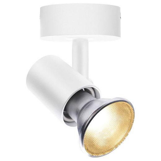 click-licht Deckenspot »Deckenleuchte Spot E27 in Weiß«, Deckenstrahler, Deckenspot, Aufbaustrahler