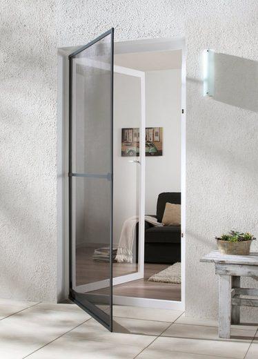 hecht international Insektenschutz-Tür »BASIC«, anthrazit/anthrazit, BxH: 100x210 cm