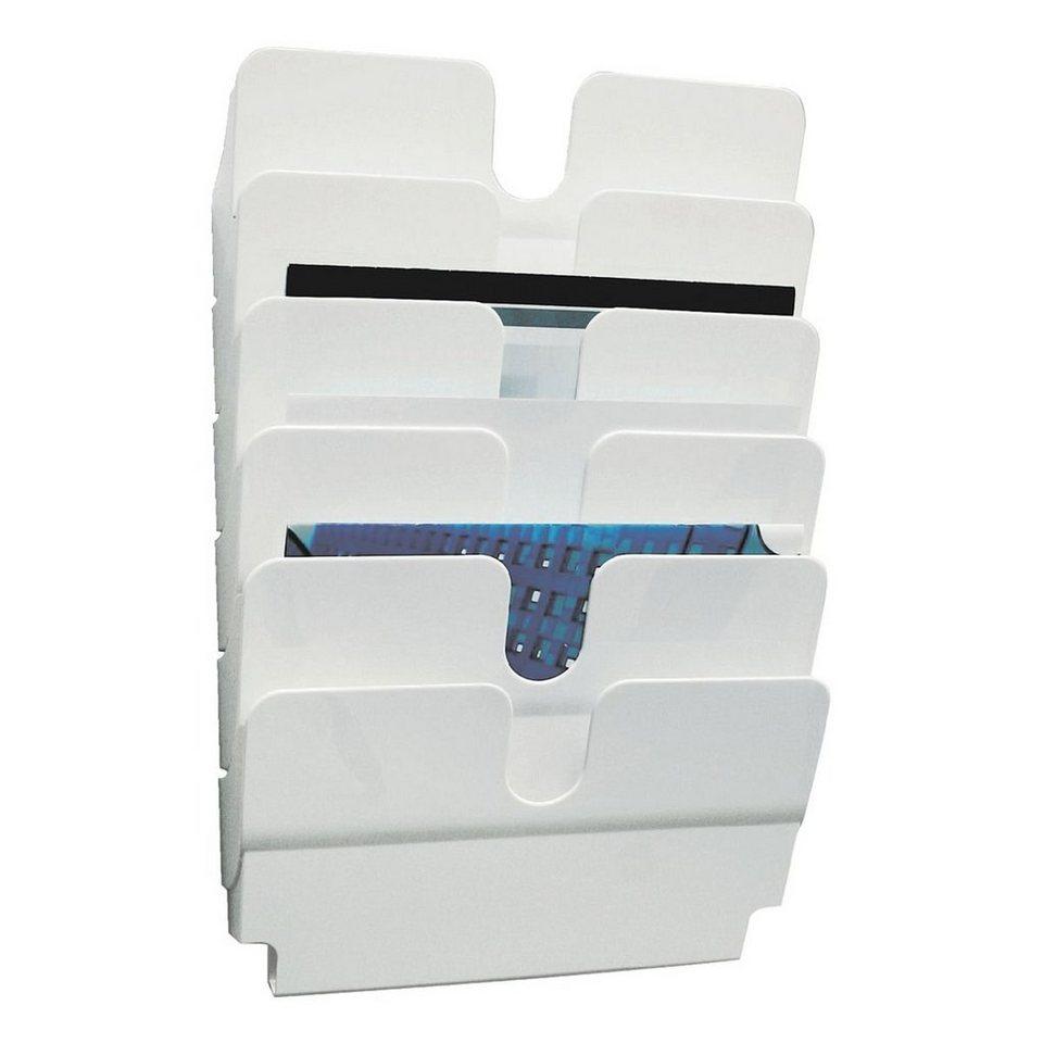 Durable Wand-Prospekthalter »Flexiplus« in weiß