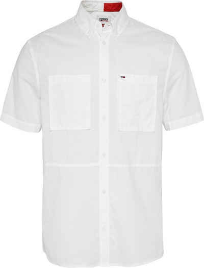 Tommy Jeans Kurzarmhemd »TJM REG SOLID SHIRT«