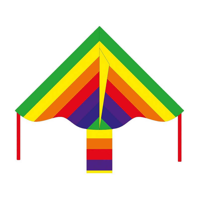 HQ Flug-Drache »Ecoline: Simple Flyer Rainbow 85cm«