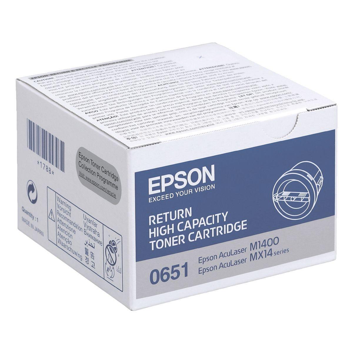 Epson Rückgabe-Tonerpatrone »S050651«