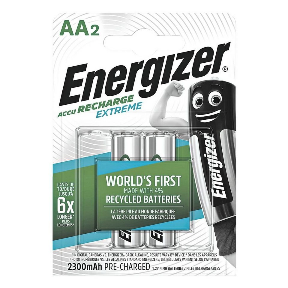 Energizer Akkus Mignon / AA / HR6