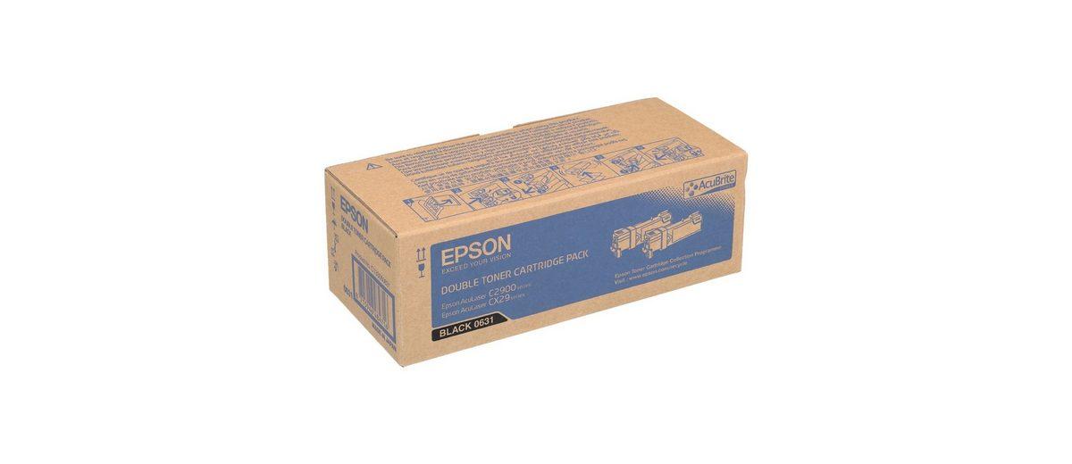 Epson Doppelpack Toner »S050631«