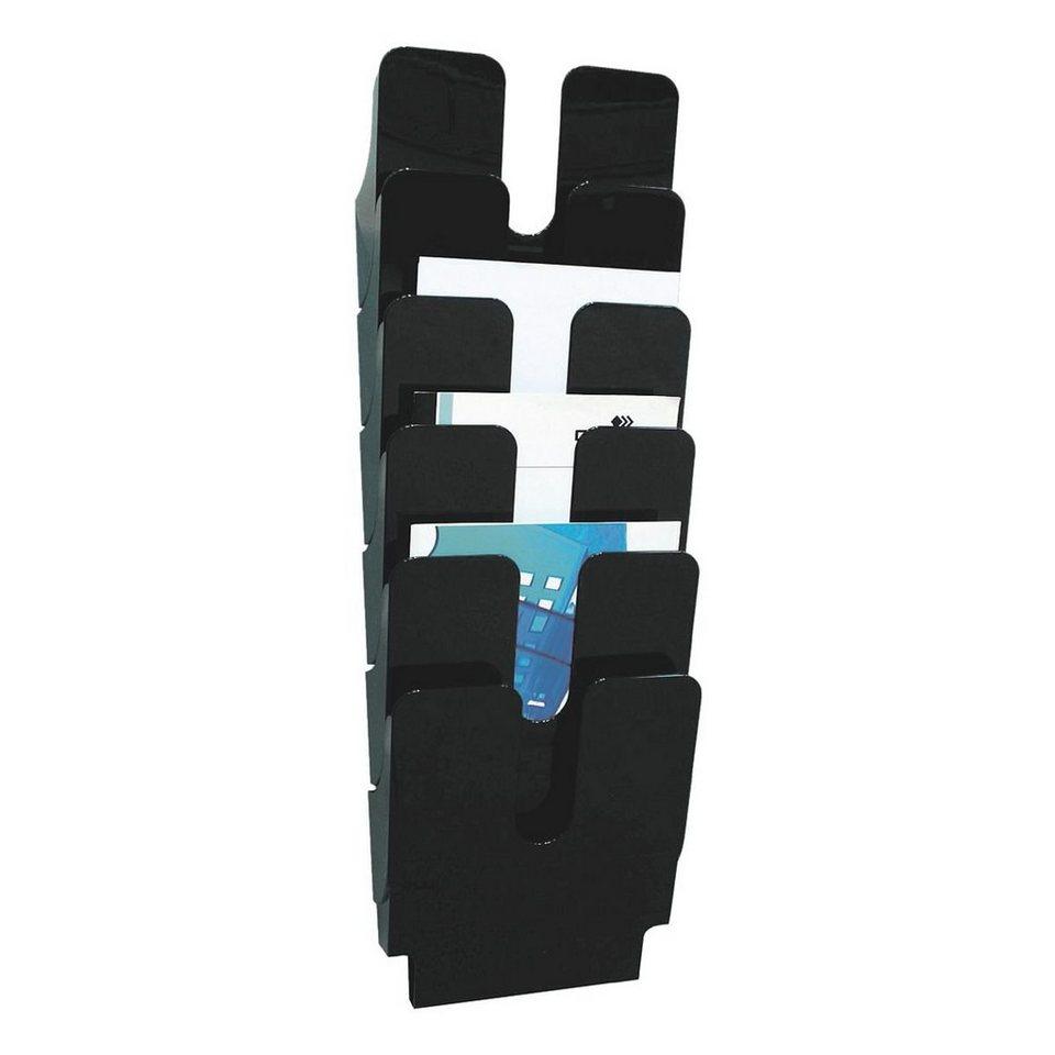 Durable Wand-Prospekthalter »Flexiplus« in schwarz