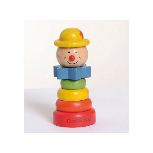 EverEarth® Stapelspielzeug »Steck-Spielzeug Clown«
