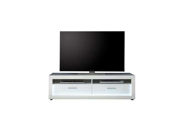 TV Möbel - ebuy24 TV Bank »Stream TV Tisch mit 2 Schubladen und 2 Ablagen, we«  - Onlineshop OTTO