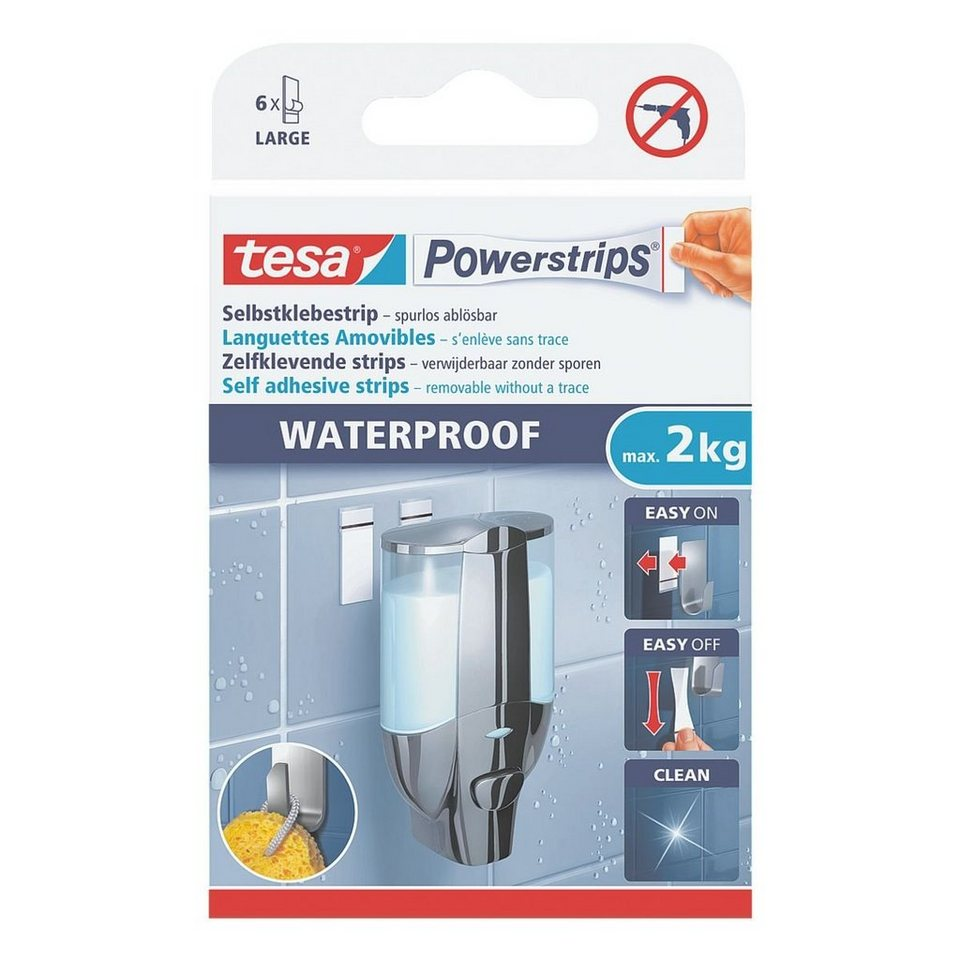 tesa Powerstrips »Waterproof Large«