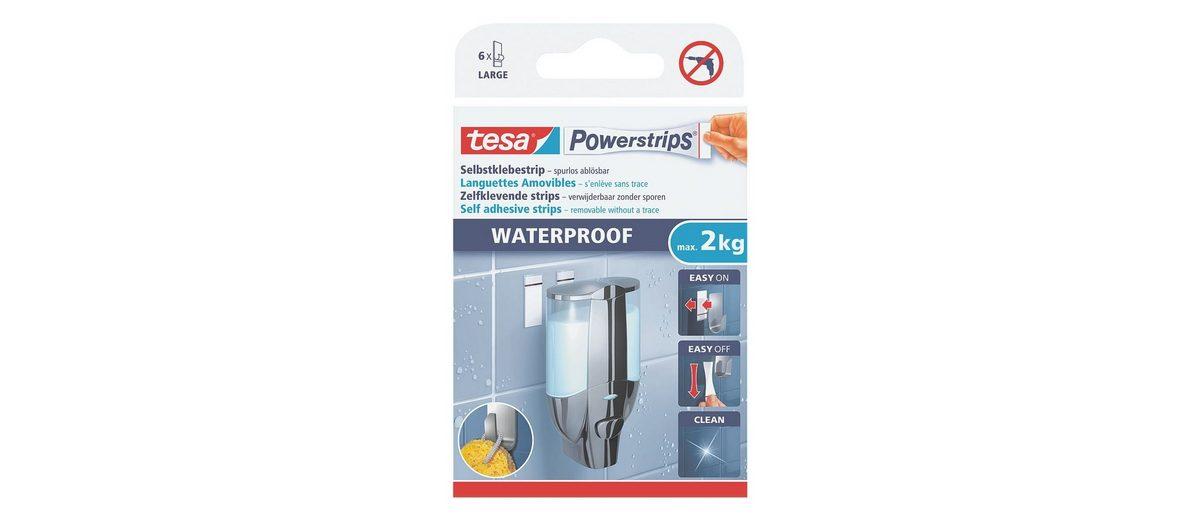 tesa Powerstrips »Waterproof Large«