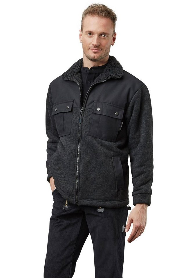 Pionier ® workwear Lumber Winter in schwarz