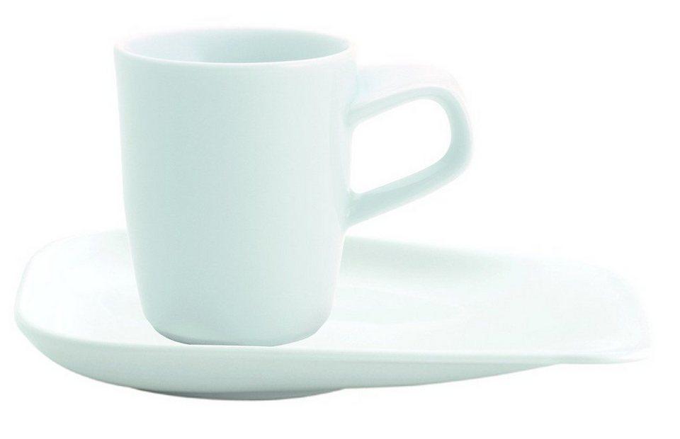 Kahla Set: Espresso-Gedeck 2-tlg. »Elixyr« in Weiß