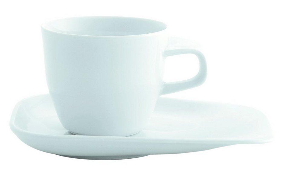 Kahla Set: Kaffee-Gedeck 2-tlg. »Elixyr« in Weiß