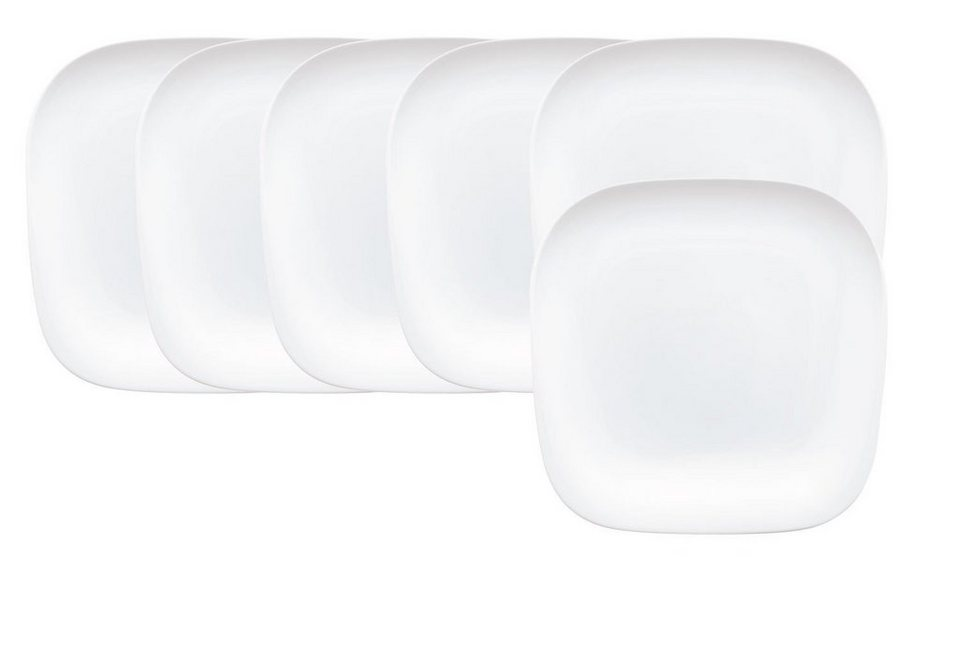 Kahla Set: Essteller 6-tlg. »Elixyr« in Weiß