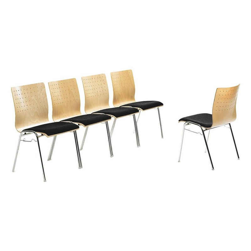 Mayer Sitzmöbel Stapelstuhl »my Arcado«, mit Sitzpolster