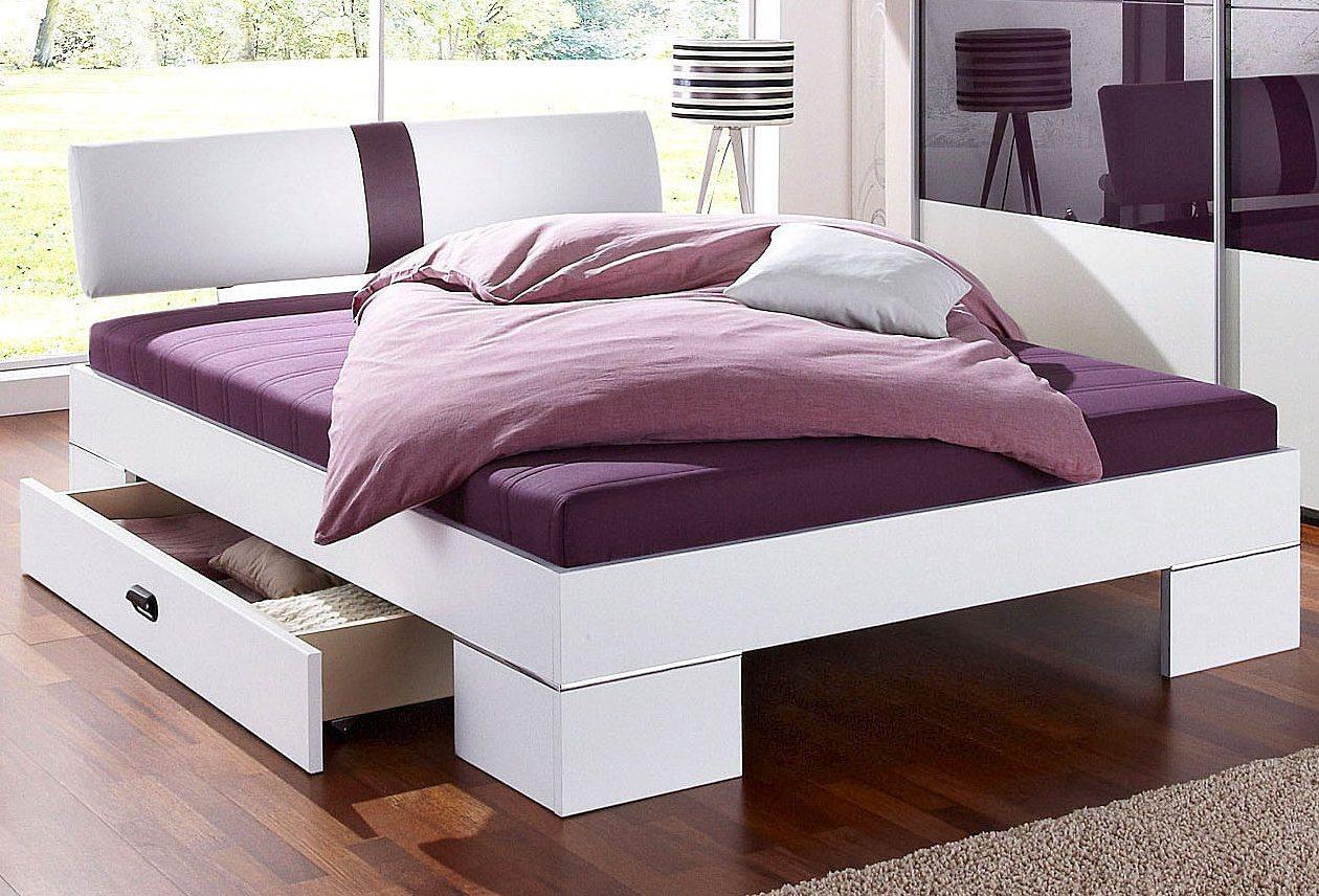 Matraflex Futonbett | Schlafzimmer > Betten > Futonbetten | Weiß - Schwarz | Polyester | Matraflex