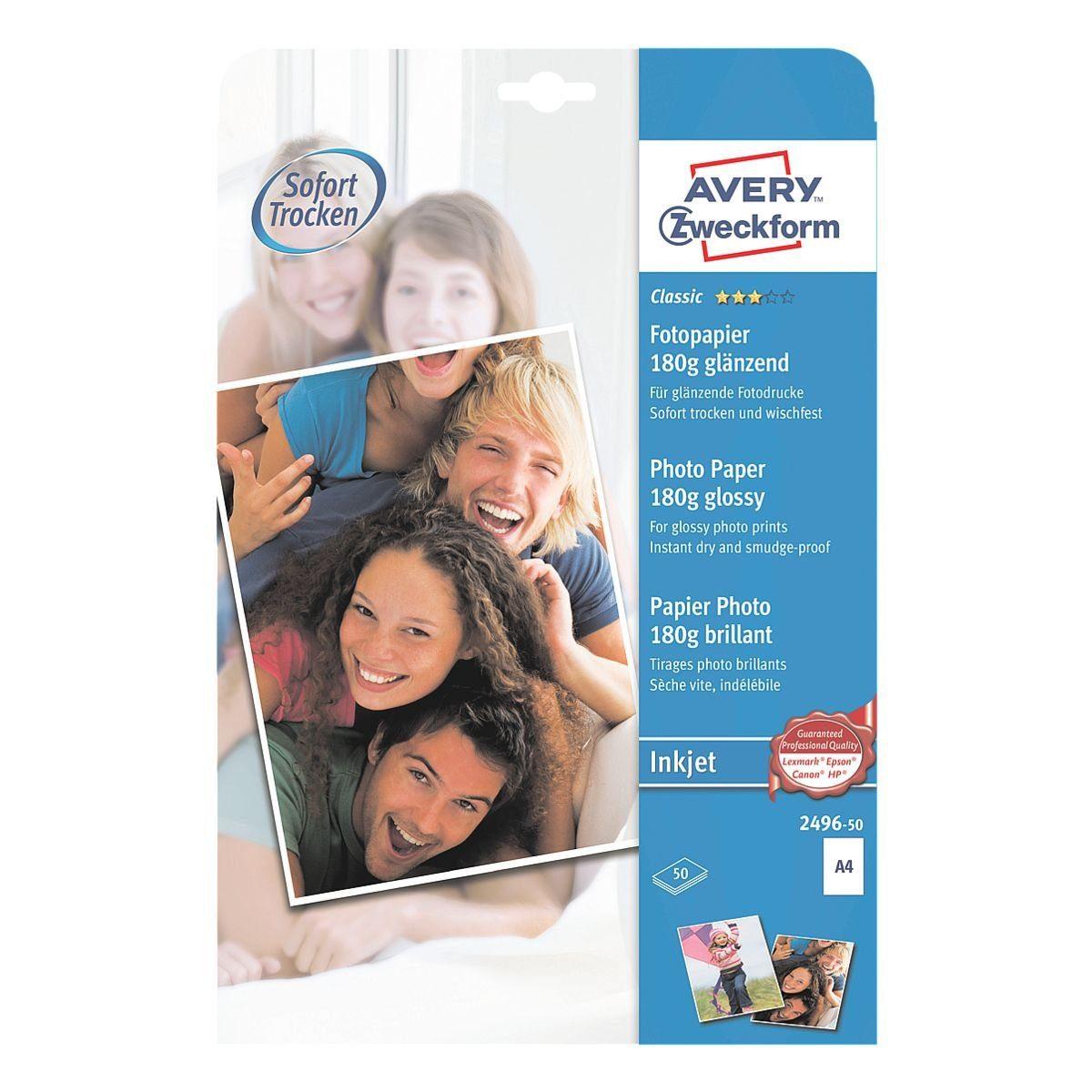 Avery Zweckform Inkjet Fotopapier