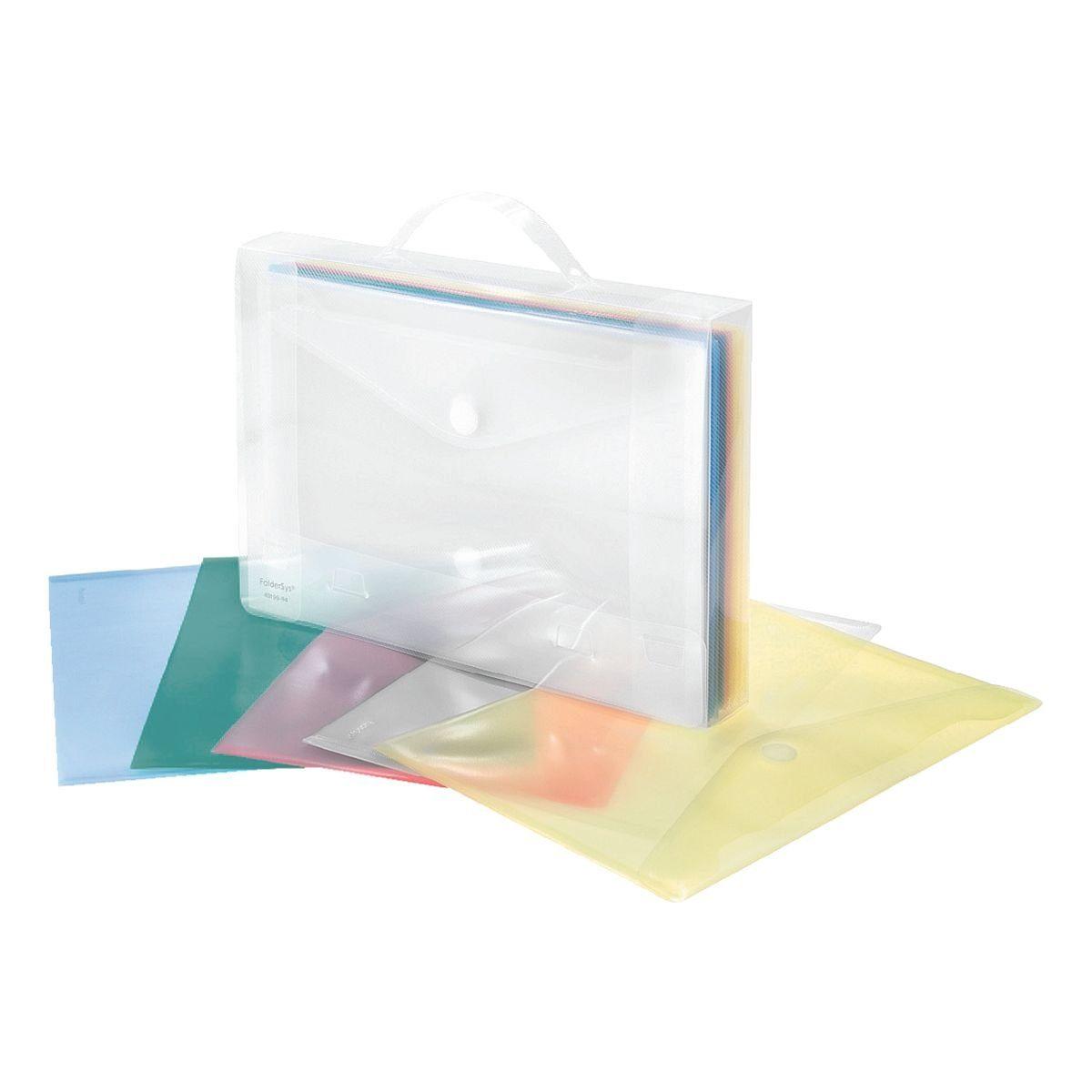 Foldersys Aktentasche mit Dokumententaschen