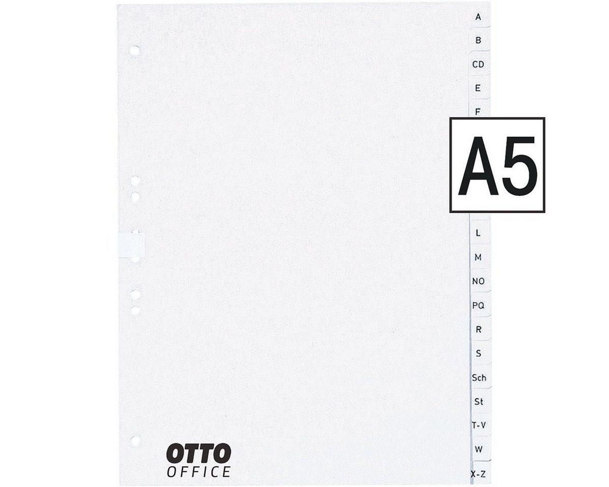 OTTOOFFICE NATURE Papierregister A-Z A5 »Nature«
