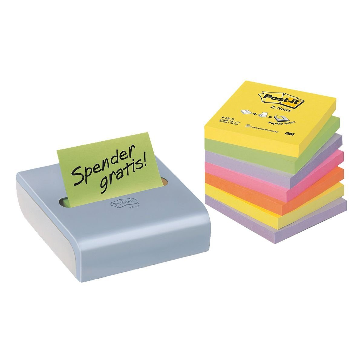 Post-It 8er-Pack Haftnotizblöcke »Z-Notes«