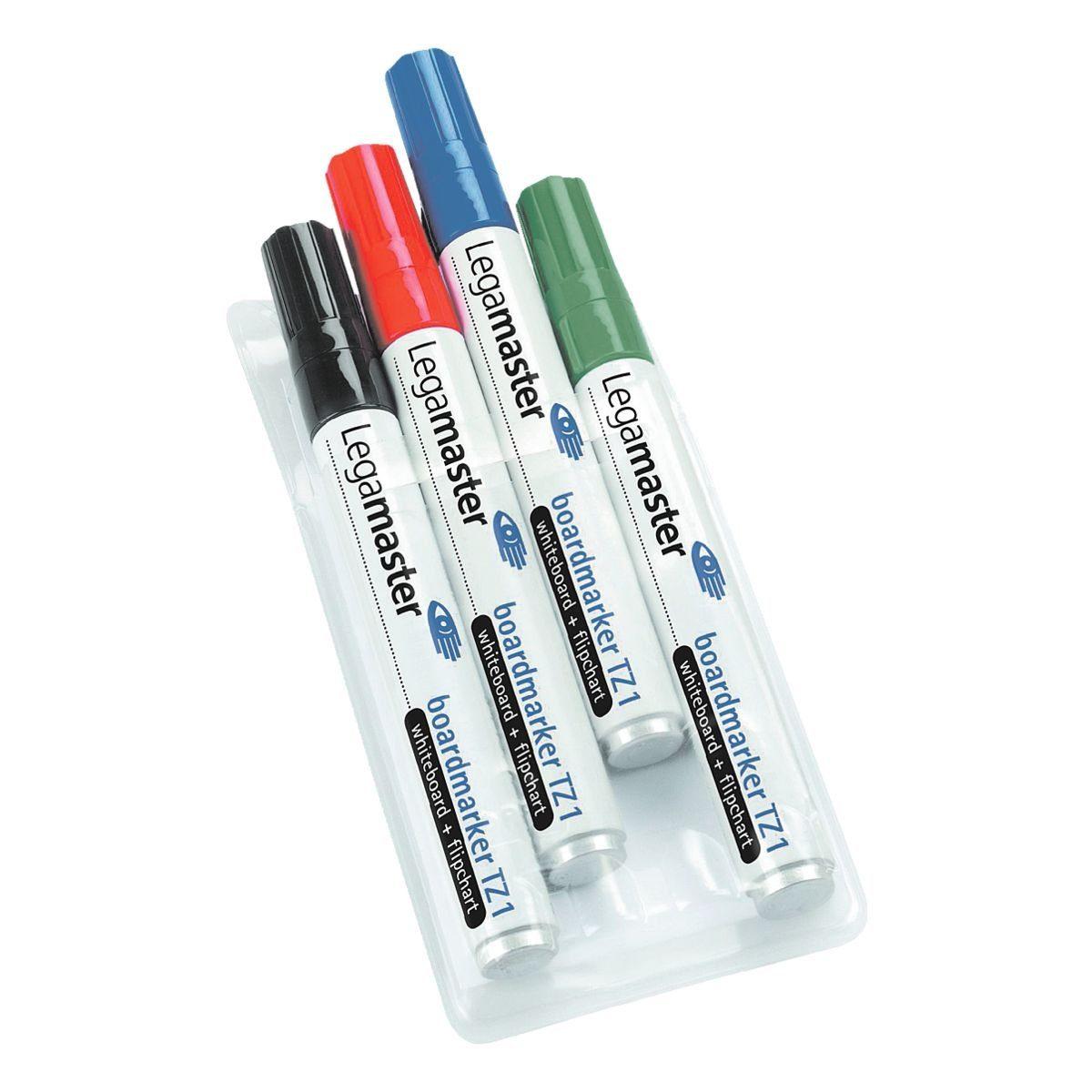 Legamaster 4er-Pack Whiteboard-Marker »TZ 1«