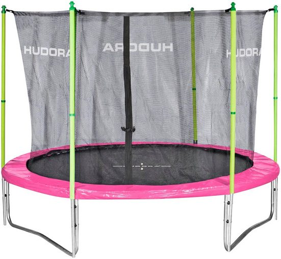HUDORA Gartentrampolin »Fun 300V«, Ø 300 cm, mit Fangnetz