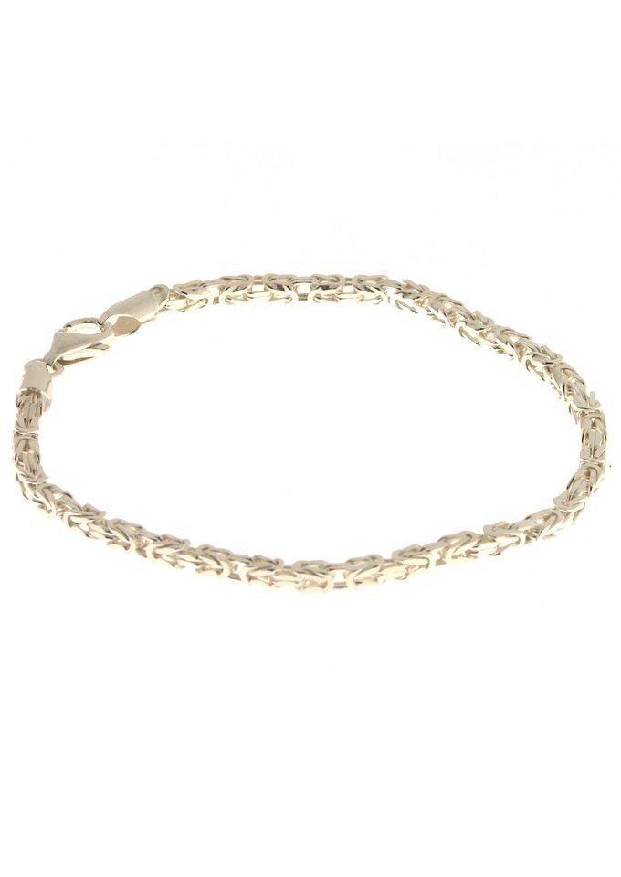 firetti Armschmuck: Armband in Königskettengliederung in Silber 925