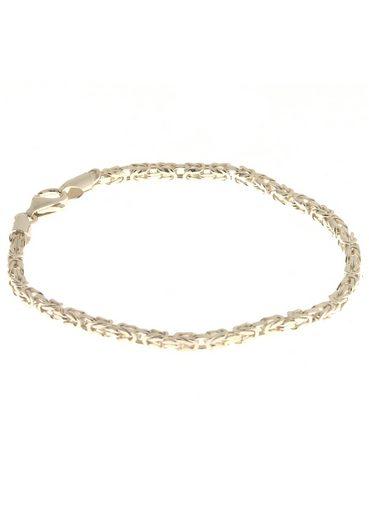 Firetti Königsarmband »2,6 mm breit, glanz, quadratische Form«