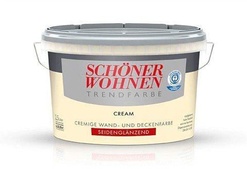 Trendfarbe »cream«, seidenglänzend in Cream