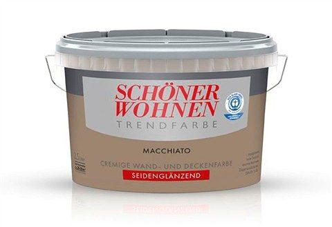 Schöner Wohnen Farbe Trendfarbe »macchiato«, seidenglänzend