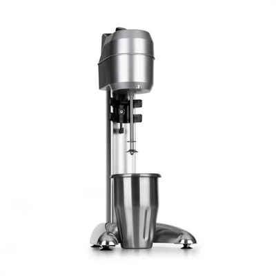 Klarstein Standmixer Kraftprotz Milchshake-Mixer Proteinshake 300W stufenlos Edelstahl silber, 300 W