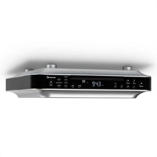 Auna »KRCD-100 BT Küchen-Unterbauradio CD MP3 Radio« Radio (UKW-Radiotuner, 0 W)