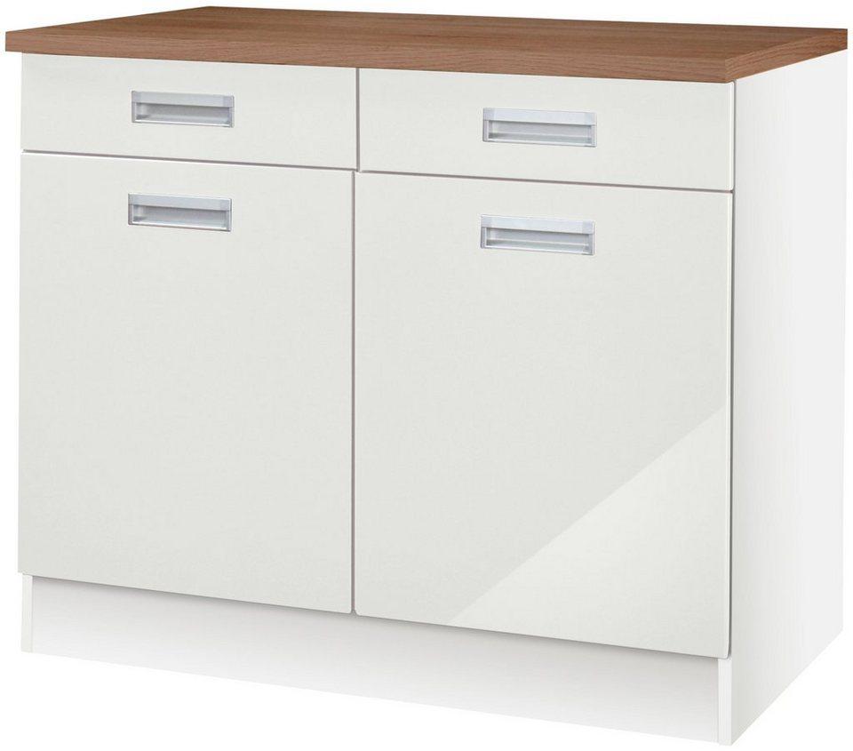 HELD MÖBEL Küchenunterschrank »Fulda, Breite 100 cm« online kaufen | OTTO